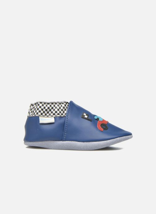 Slippers Robeez Speed Blue back view