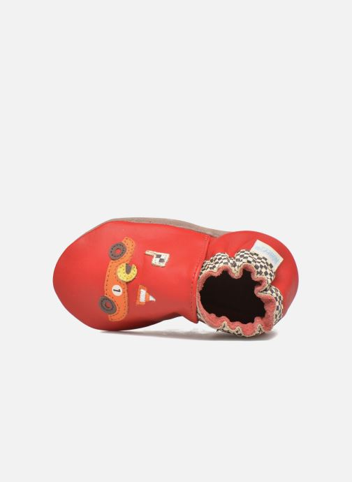 Pantofole Robeez Speed Rosso immagine sinistra