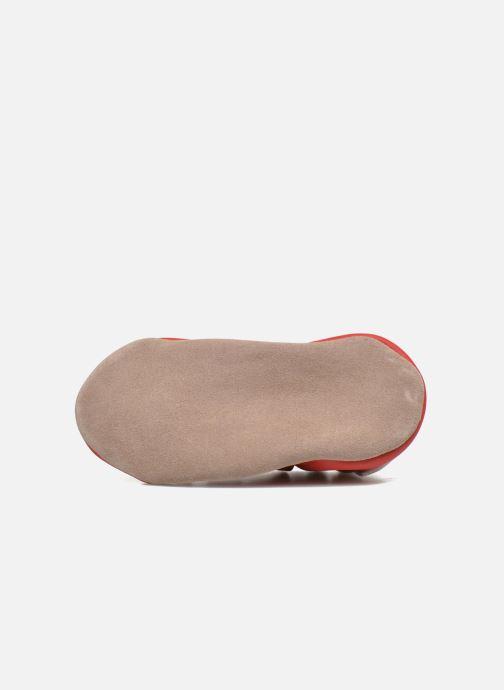 Pantofole Robeez Speed Rosso immagine dall'alto