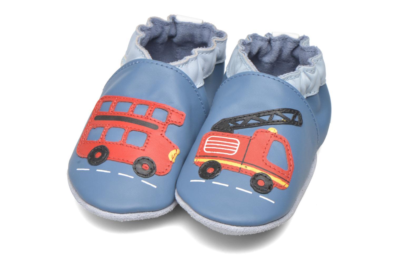 Pantoffels Robeez London Street Blauw 3/4'