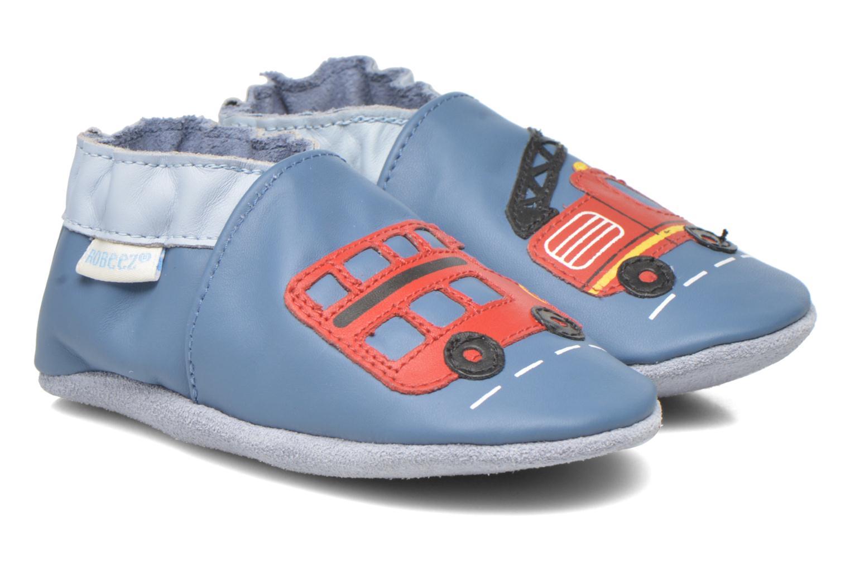 Pantoffels Robeez London Street Blauw detail