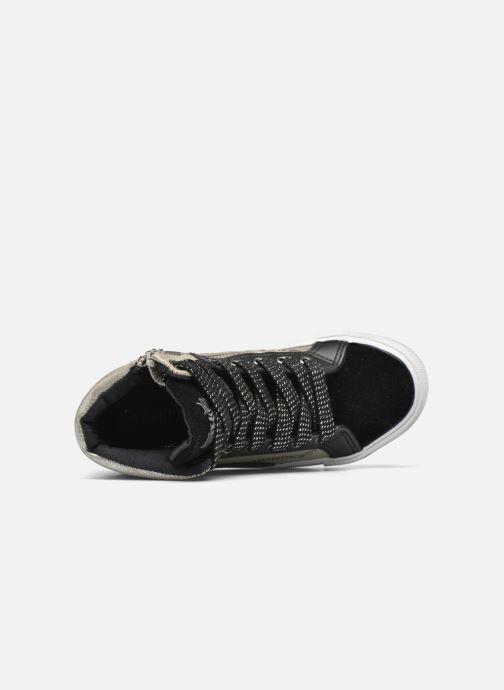 Baskets Kaporal Amelony Noir vue gauche