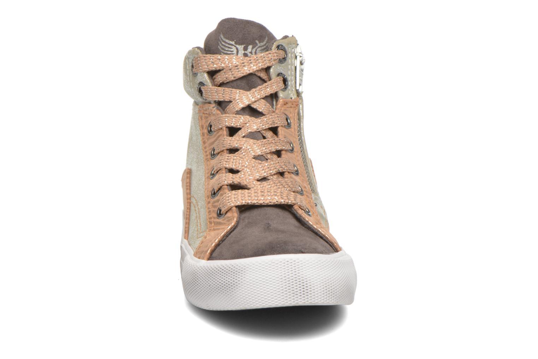 Baskets Kaporal Amelony Gris vue portées chaussures
