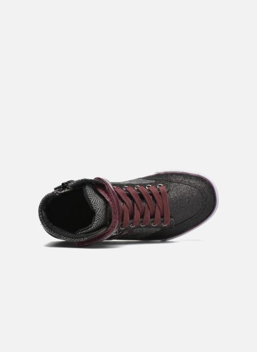 Sneaker Kaporal Mounty schwarz ansicht von links