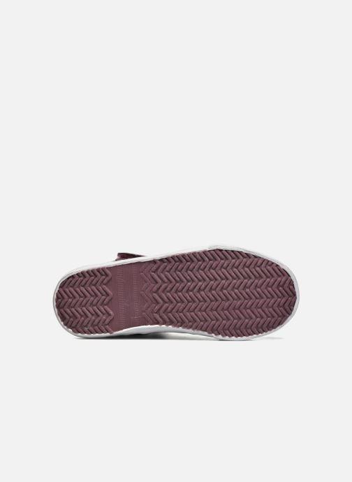 Sneaker Kaporal Mounty schwarz ansicht von oben