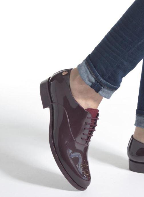 Chaussures à lacets Lemon Jelly Jeny Noir vue bas / vue portée sac