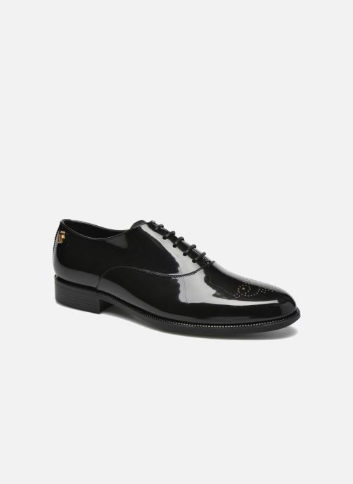 Lace-up shoes Lemon Jelly Jeny Black detailed view/ Pair view