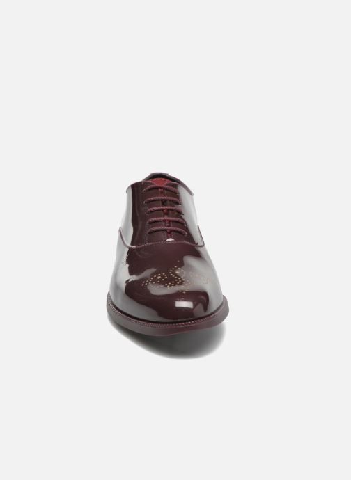 Chaussures à lacets Lemon Jelly Jeny Bordeaux vue portées chaussures