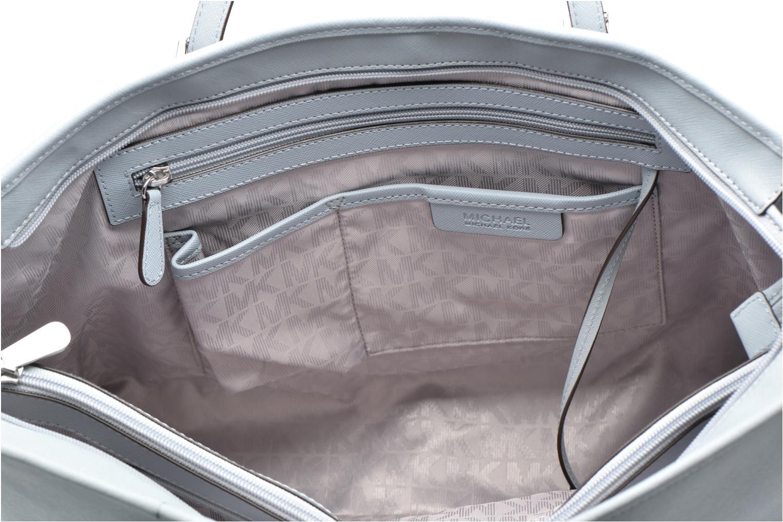 Bolsos de mano Michael Michael Kors JET SET Travel MD TZ Multifonction Tote Azul vistra trasera