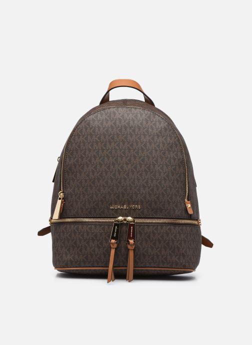 Rucksäcke Michael Michael Kors RHEA ZIP MD Backpack braun detaillierte ansicht/modell