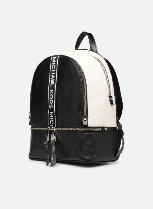 Rucksacks Michael Michael Kors RHEA ZIP MD Backpack Black model view