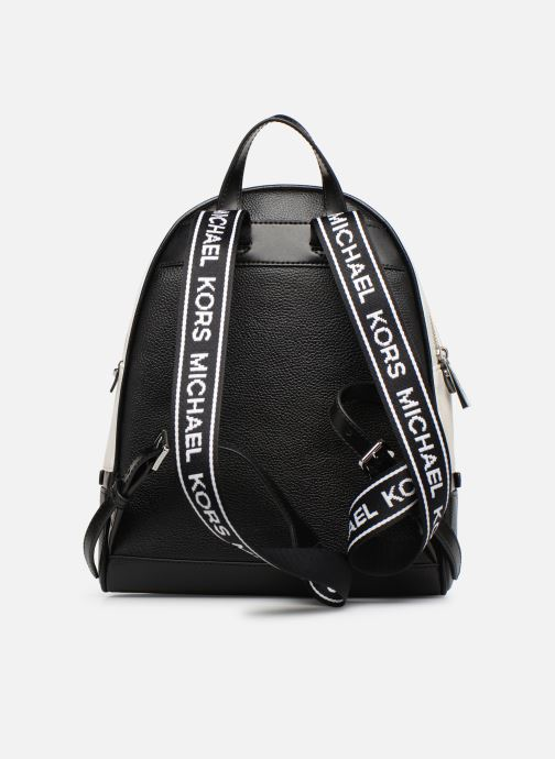 Sacs à dos Michael Michael Kors RHEA ZIP MD Backpack Noir vue face
