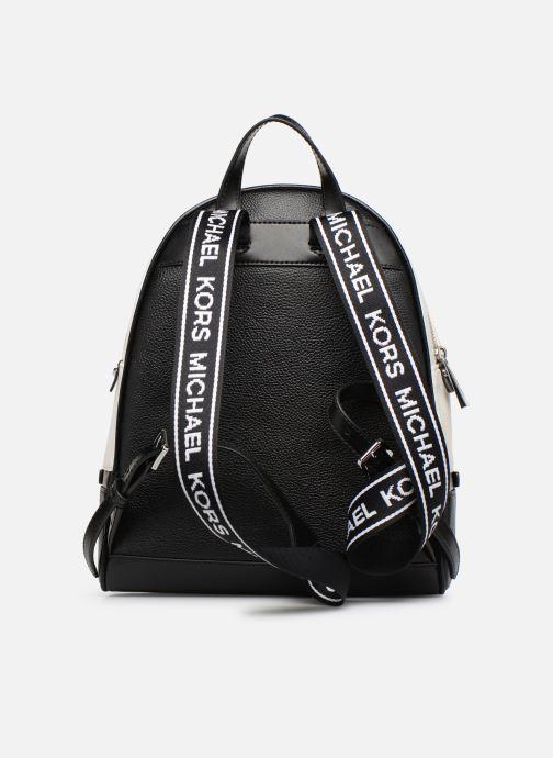 Sacs à dos Michael Michael Kors RHEA ZIP MD Backpack Noir vue face