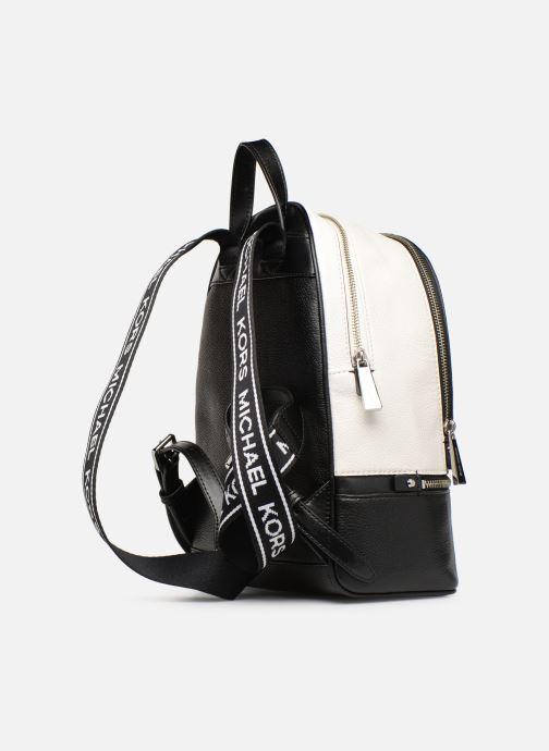 Sacs à dos Michael Michael Kors RHEA ZIP MD Backpack Noir vue droite