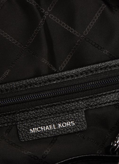 Rucksacks Michael Michael Kors RHEA ZIP MD Backpack Black back view