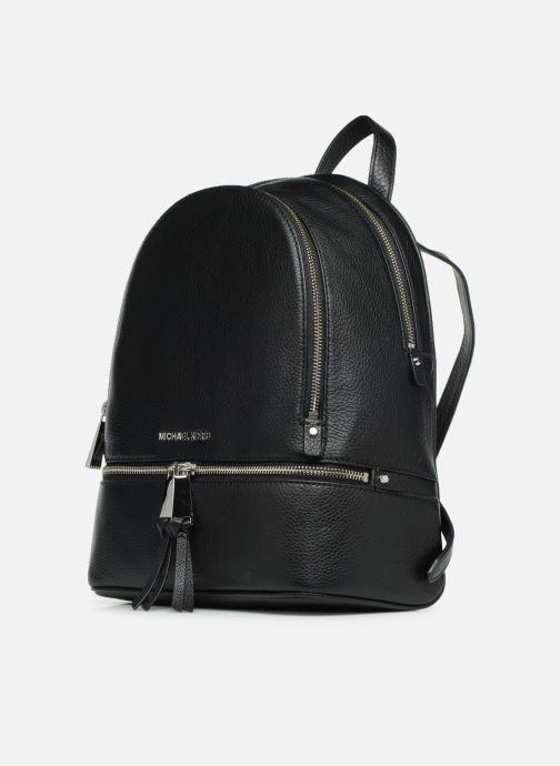 Rugzakken Michael Michael Kors RHEA ZIP MD Backpack Zwart model