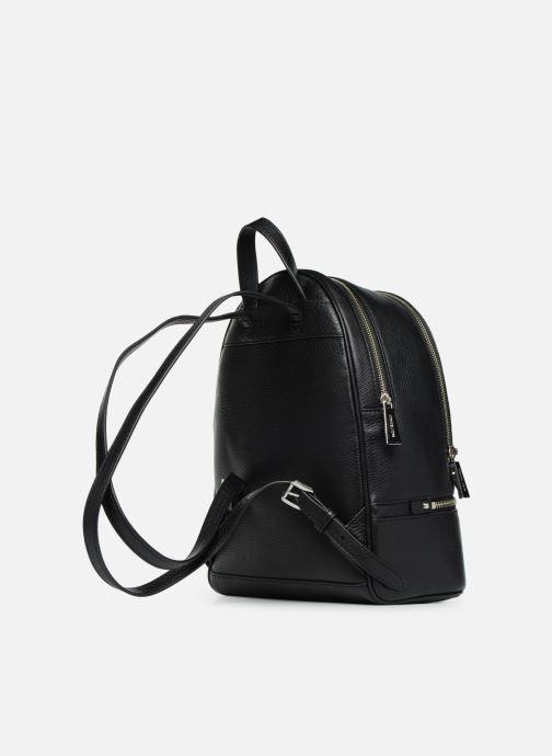 Rugzakken Michael Michael Kors RHEA ZIP MD Backpack Zwart rechts