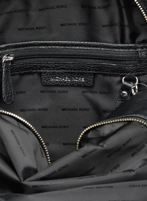Sacs à dos Michael Michael Kors RHEA ZIP MD Backpack Noir vue derrière