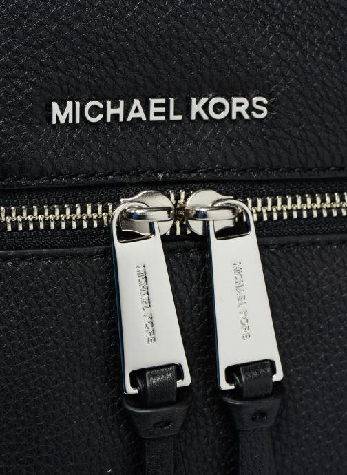 Mochilas Michael Michael Kors RHEA ZIP MD Backpack Negro vista lateral izquierda