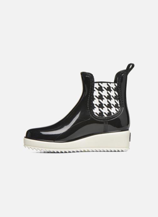 Boots en enkellaarsjes Colors of California Jane Zwart voorkant
