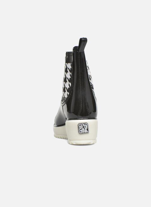 Bottines et boots Colors of California Jane Noir vue droite