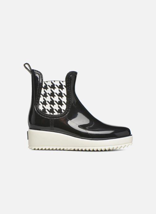 Boots en enkellaarsjes Colors of California Jane Zwart achterkant