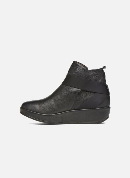 Bottines et boots Fly London Beta660 Noir vue face