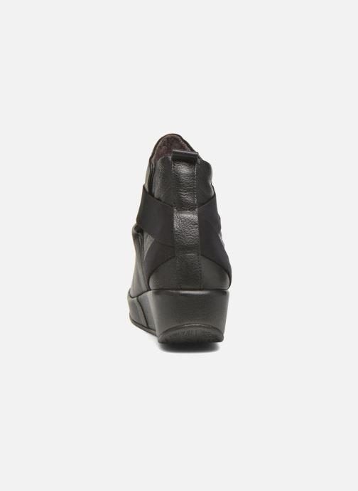 Bottines et boots Fly London Beta660 Noir vue droite
