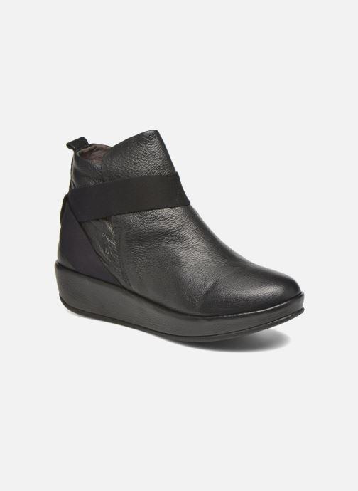 Bottines et boots Fly London Beta660 Noir vue détail/paire