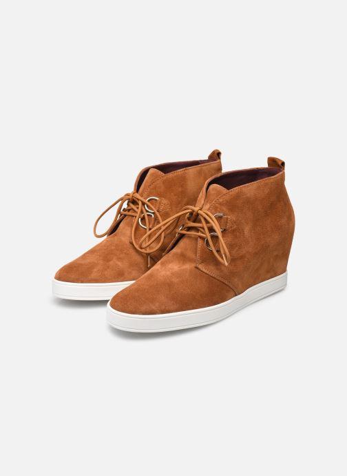 Chaussures à lacets HÖGL Christel Marron vue bas / vue portée sac