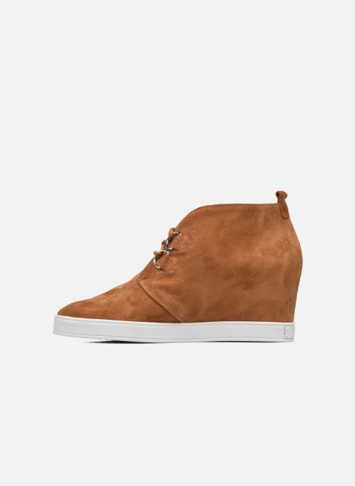 Chaussures à lacets HÖGL Christel Marron vue face