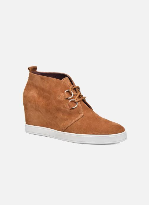 Chaussures à lacets HÖGL Christel Marron vue détail/paire
