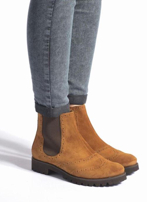 Boots en enkellaarsjes HÖGL Heida Bruin onder