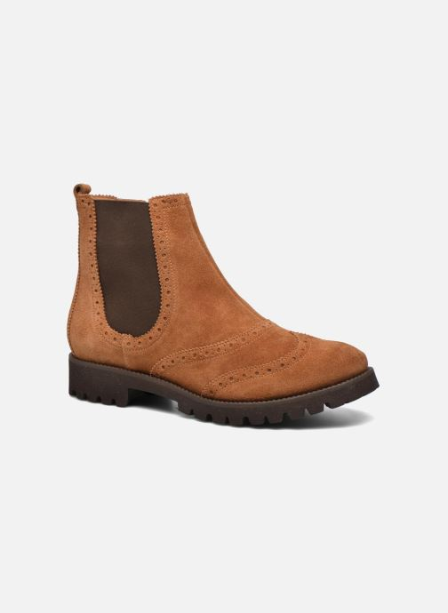 Boots en enkellaarsjes HÖGL Heida Bruin detail