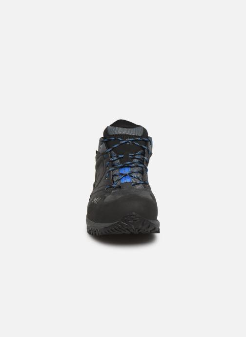 Chaussures de sport Millet Hike Up GTX Gris vue portées chaussures