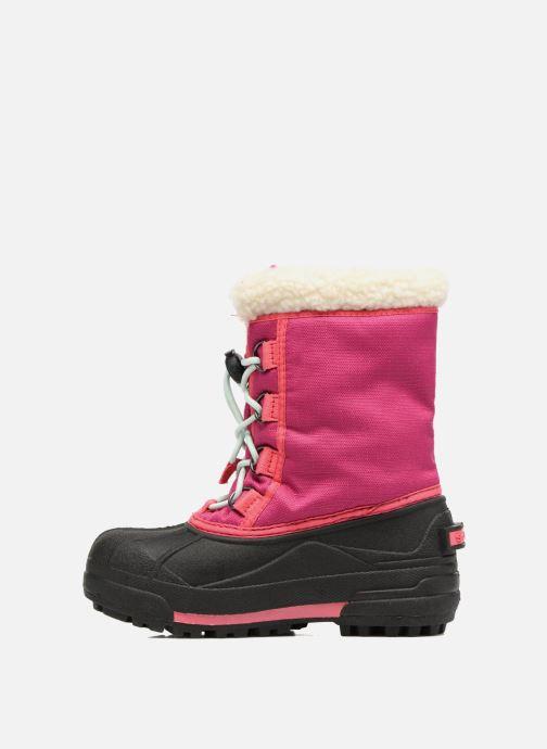 Støvler & gummistøvler Sorel Youth Cumberland Pink se forfra