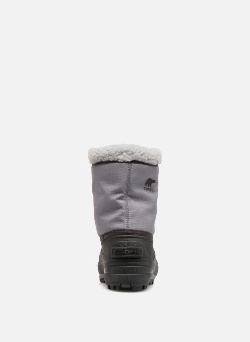 Botas Sorel Youth Cumberland Gris vista lateral derecha