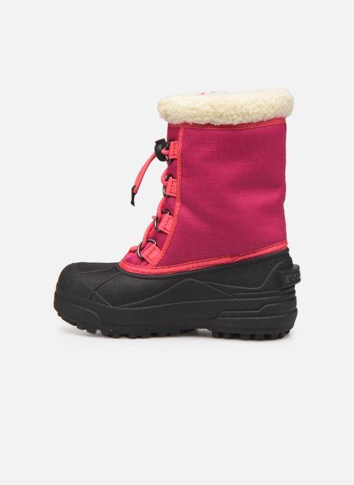 Stiefel Sorel Youth Cumberland rosa ansicht von vorne