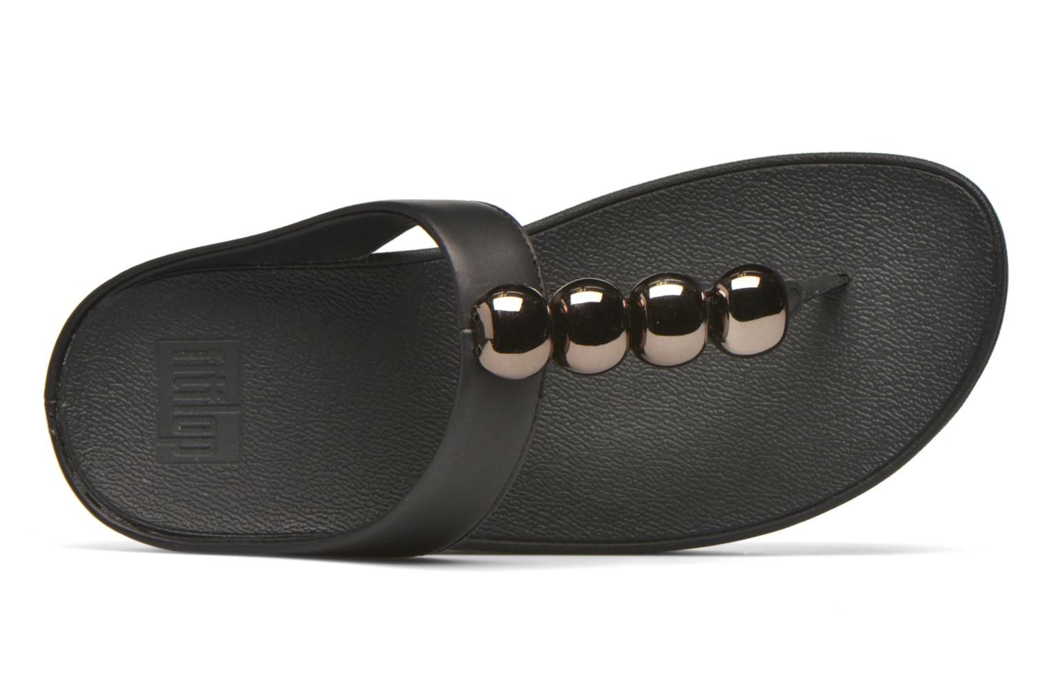 Flip flops FitFlop Rola Black view from the left