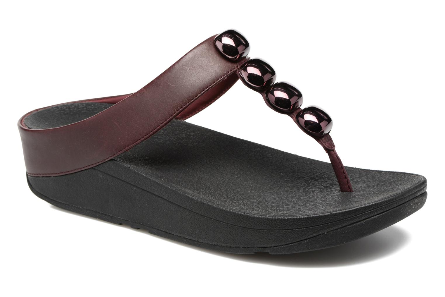 Flip flops FitFlop Rola Burgundy detailed view/ Pair view