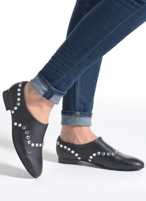 Loafers Opening Ceremony CHARLY Black view from underneath / model view