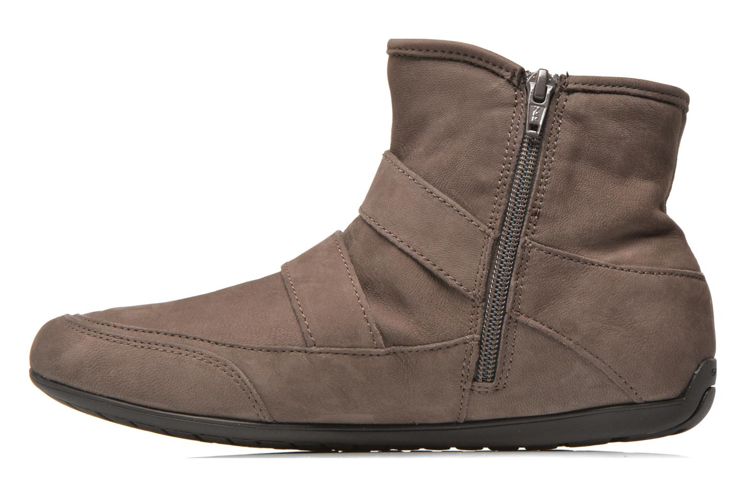 Ankle boots Geox D NEW MOENA D D3460D Brown front view