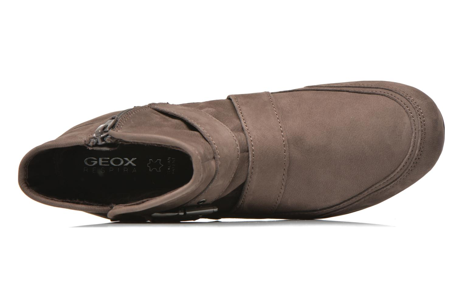 Ankle boots Geox D NEW MOENA D D3460D Brown view from the left