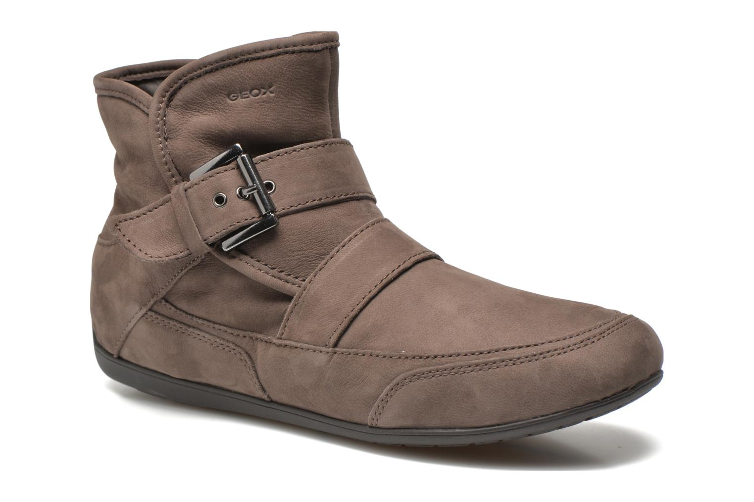 Ankle boots Geox D NEW MOENA D D3460D Brown detailed view/ Pair view