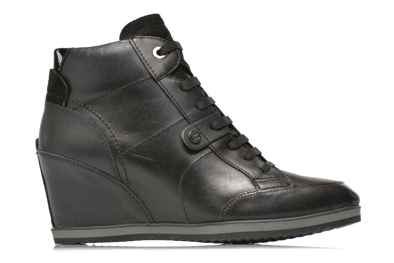 Sneakers Geox D ILLUSION A D4454A Zwart achterkant