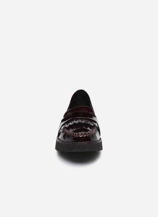 Mocassins Geox D BLENDA C D640BC Bordeaux vue portées chaussures