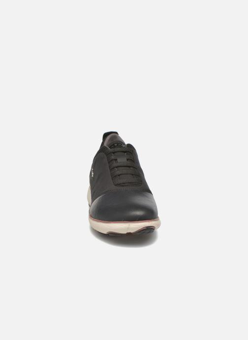 Baskets Geox D NEBULA G D641EG Noir vue portées chaussures