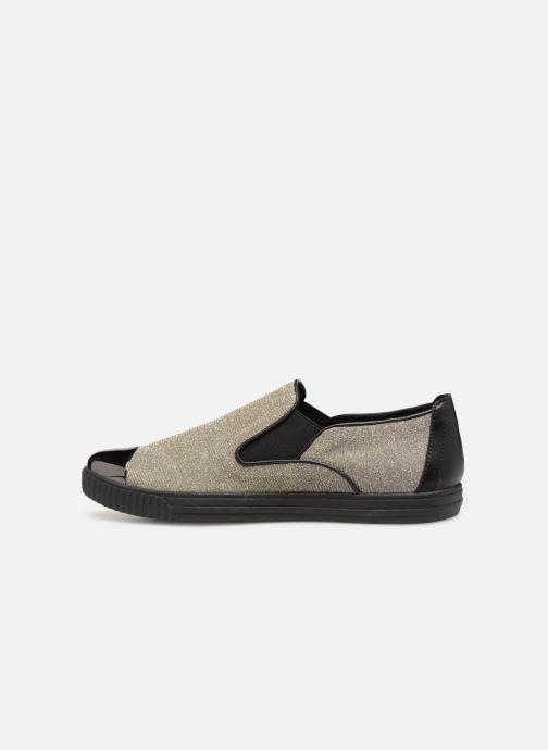 Sneakers Geox D AMALTHIA B D641MB Zilver voorkant