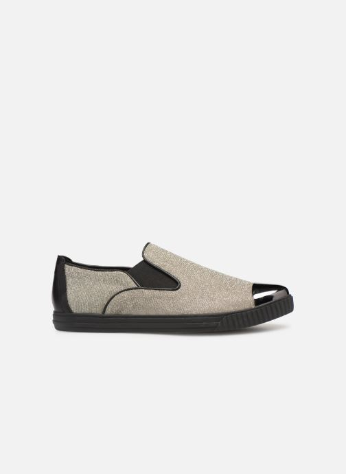 Sneakers Geox D AMALTHIA B D641MB Zilver achterkant