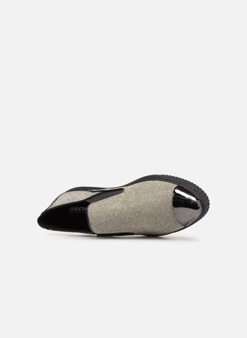 Sneakers Geox D AMALTHIA B D641MB Zilver links